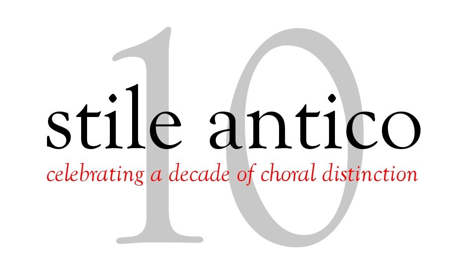 Tenth Anniversary Celebration - celebrating a decade of choral distinction