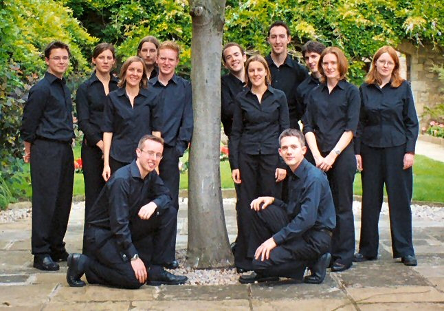 Stile Antico shortly before  the 2005 York Competition